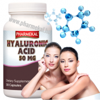 Pharmekal Hyaluronic Acid - Hyaluronsav 50 mg 30 db